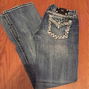 Miss Me signature boot jeans size 29